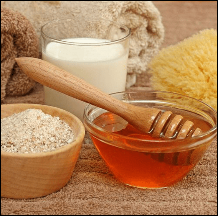 Image for Post - Oatmeal and Honey Facial Mask