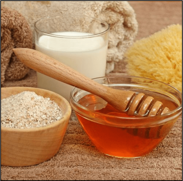 Image for Oatmeal and Honey Facial Mask