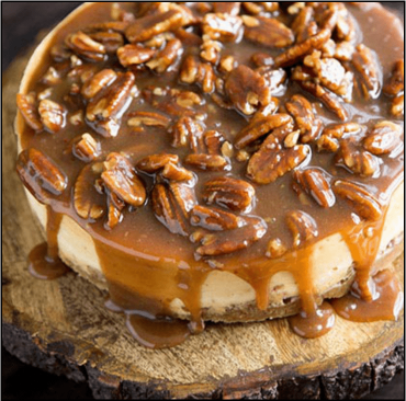 Image for Honey Pecan Cheesecake