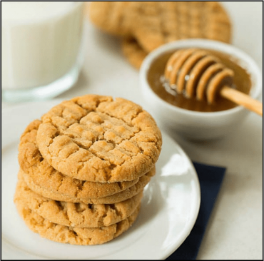Image for Honey Peanut Butter Cookies