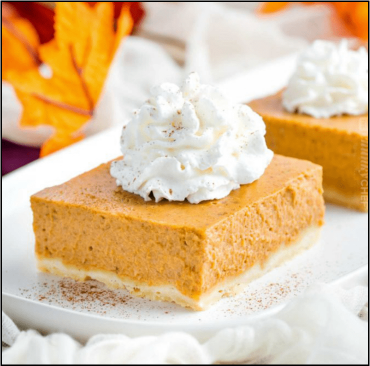 Image for Honey Pumpkin Pie Bars