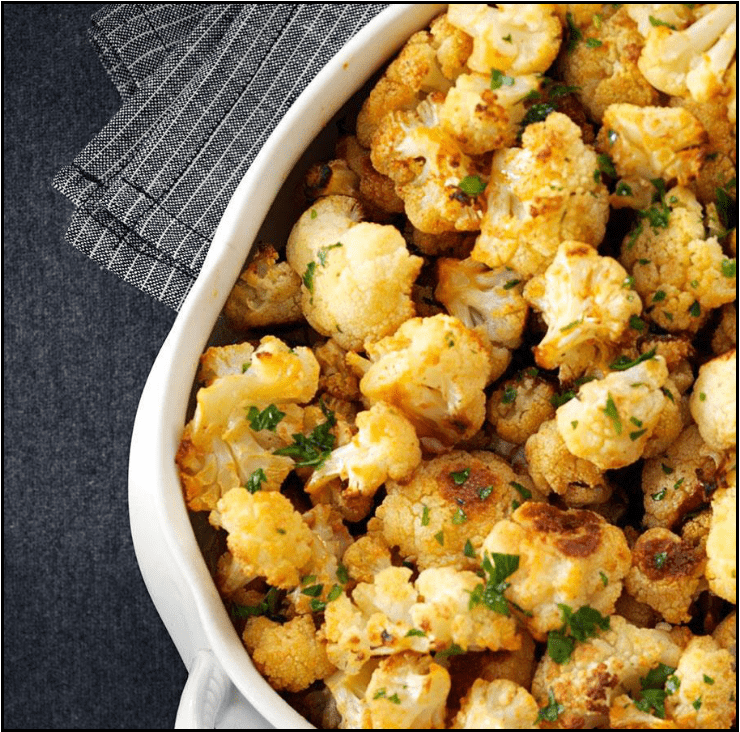 Image for Post - Honey Charred Cauliflower with Smoked Paprika