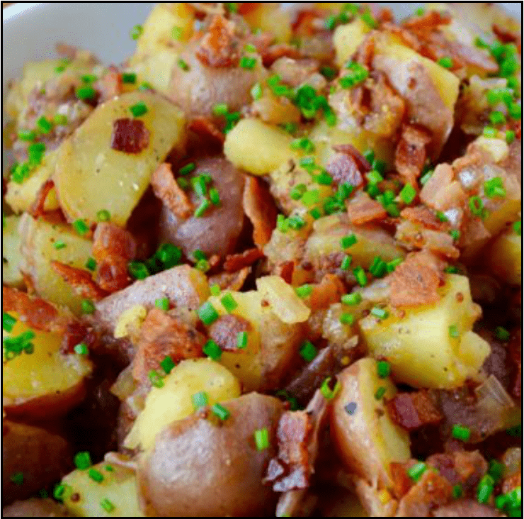 Image for Post - Warm Potato Salad with Honey Dressing